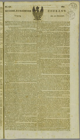 Middelburgsche Courant 1817-12-30