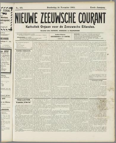 Nieuwe Zeeuwsche Courant 1905-11-16