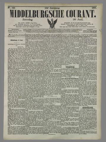 Middelburgsche Courant 1891-06-20