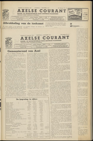 Axelsche Courant 1953-12-02
