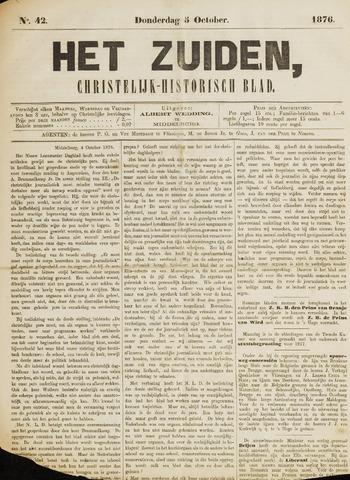 Het Zuiden, Christelijk-historisch blad 1876-10-05