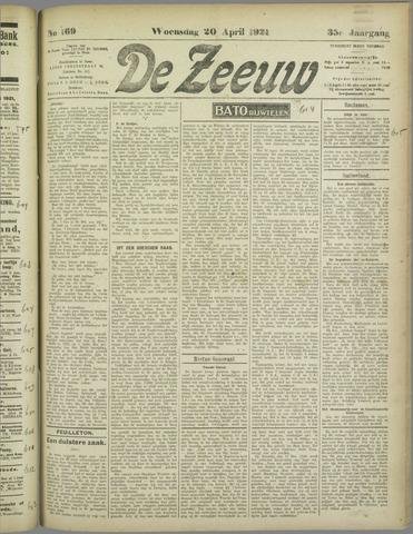 De Zeeuw. Christelijk-historisch nieuwsblad voor Zeeland 1921-04-20