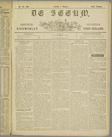 De Zeeuw. Christelijk-historisch nieuwsblad voor Zeeland 1896-08-01