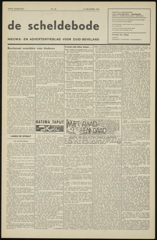 Scheldebode 1970-10-16