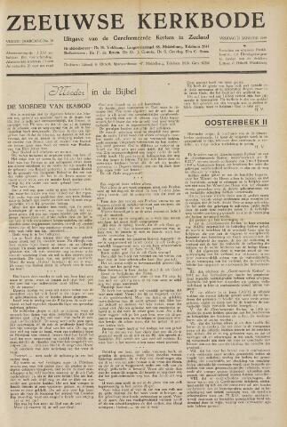 Zeeuwsche kerkbode, weekblad gewijd aan de belangen der gereformeerde kerken/ Zeeuwsch kerkblad 1949-01-21