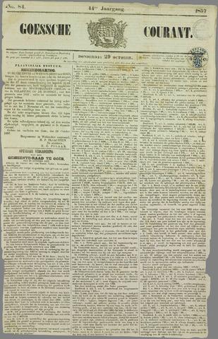 Goessche Courant 1857-10-29