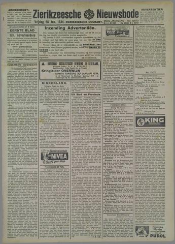 Zierikzeesche Nieuwsbode 1934-01-26