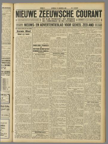 Nieuwe Zeeuwsche Courant 1929-08-10