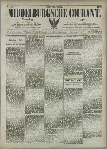 Middelburgsche Courant 1891-04-20
