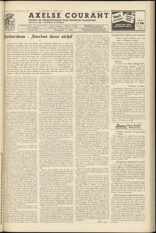 Axelsche Courant 1957-04-27