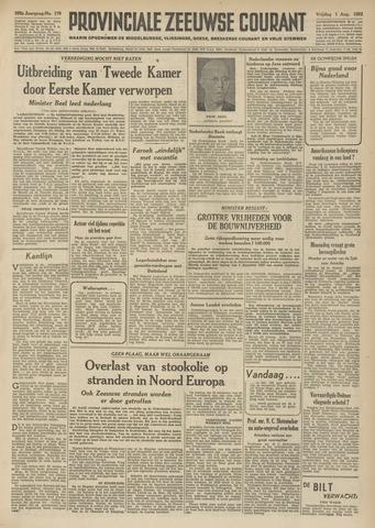 Provinciale Zeeuwse Courant 1952-08-01