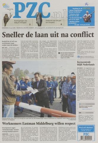 Provinciale Zeeuwse Courant 2009-04-16