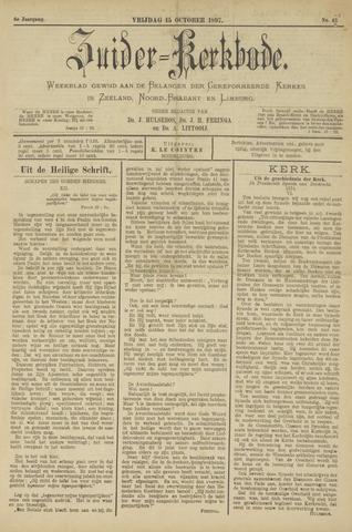 Zuider Kerkbode, Weekblad gewijd aan de belangen der gereformeerde kerken in Zeeland, Noord-Brabant en Limburg. 1897-10-15