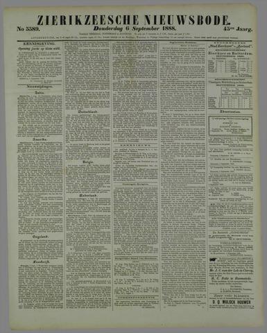 Zierikzeesche Nieuwsbode 1888-09-06