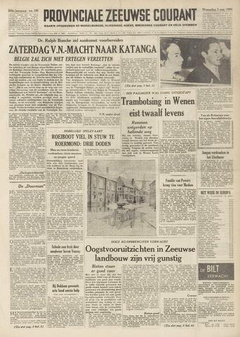Provinciale Zeeuwse Courant 1960-08-03
