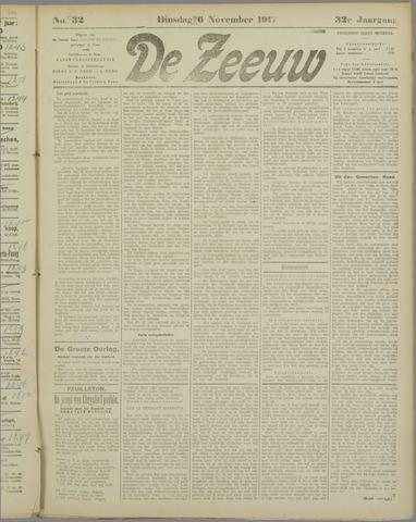 De Zeeuw. Christelijk-historisch nieuwsblad voor Zeeland 1917-11-06