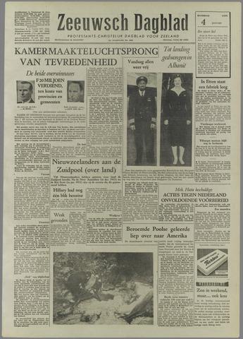 Zeeuwsch Dagblad 1958-01-04