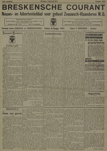 Breskensche Courant 1937-02-02