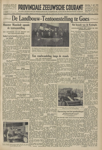 Provinciale Zeeuwse Courant 1946-07-06