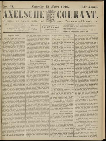 Axelsche Courant 1919-03-15