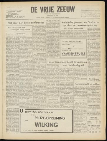 de Vrije Zeeuw 1954-12-31