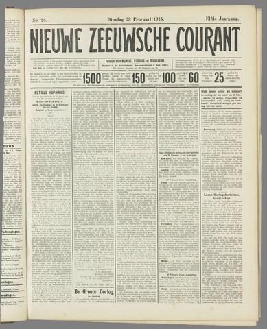 Nieuwe Zeeuwsche Courant 1915-02-23