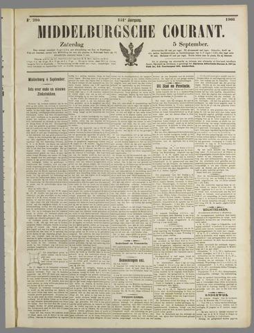 Middelburgsche Courant 1908-09-05