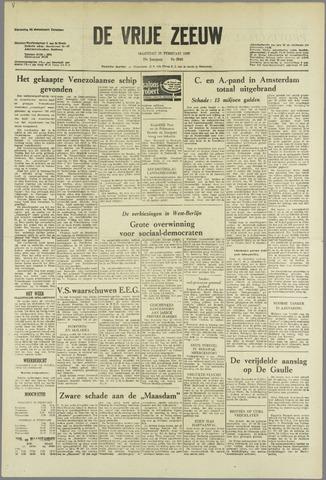 de Vrije Zeeuw 1963-02-18