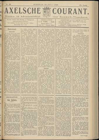 Axelsche Courant 1929-07-16
