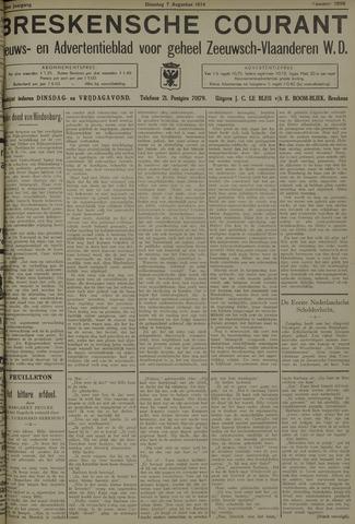 Breskensche Courant 1934-08-07