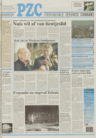 Provinciale Zeeuwse Courant 1996-10-29