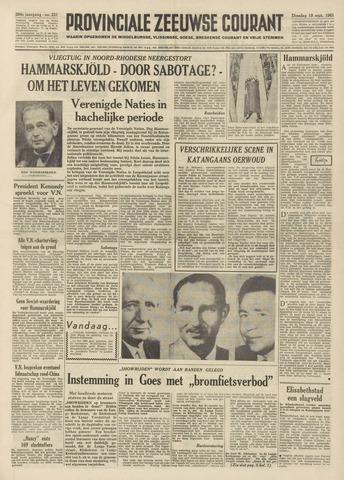 Provinciale Zeeuwse Courant 1961-09-19