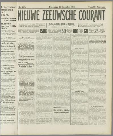 Nieuwe Zeeuwsche Courant 1916-12-14