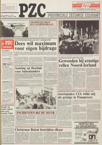 Provinciale Zeeuwse Courant 1986-08-11