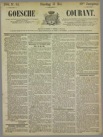 Goessche Courant 1881-05-31