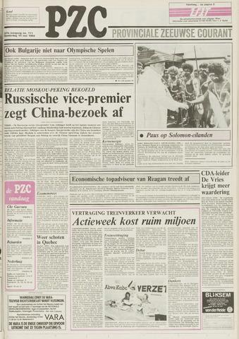 Provinciale Zeeuwse Courant 1984-05-10
