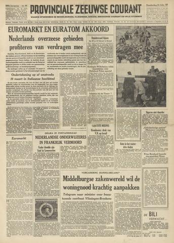Provinciale Zeeuwse Courant 1957-02-21