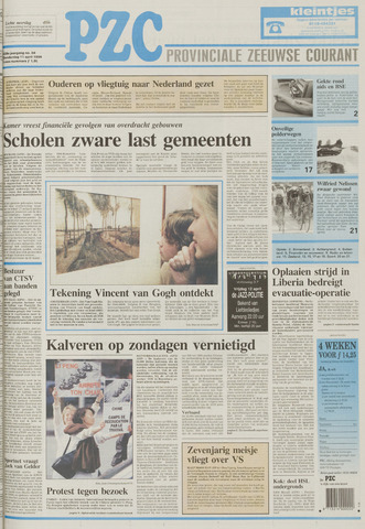 Provinciale Zeeuwse Courant 1996-04-11