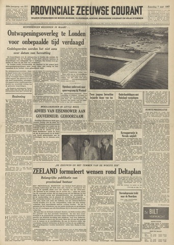 Provinciale Zeeuwse Courant 1957-09-07