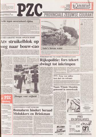 Provinciale Zeeuwse Courant 1989-02-14