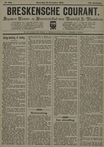 Breskensche Courant 1914-11-14