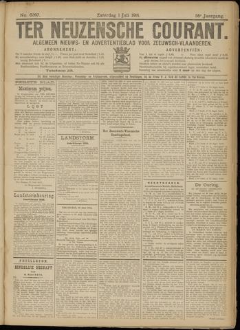 Ter Neuzensche Courant. Algemeen Nieuws- en Advertentieblad voor Zeeuwsch-Vlaanderen / Neuzensche Courant ... (idem) / (Algemeen) nieuws en advertentieblad voor Zeeuwsch-Vlaanderen 1916-07-01