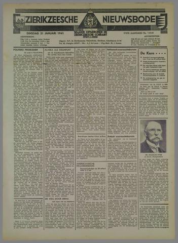 Zierikzeesche Nieuwsbode 1941-01-21