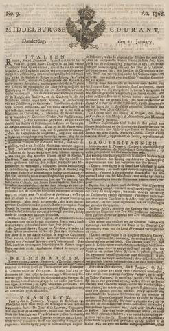 Middelburgsche Courant 1768-01-21