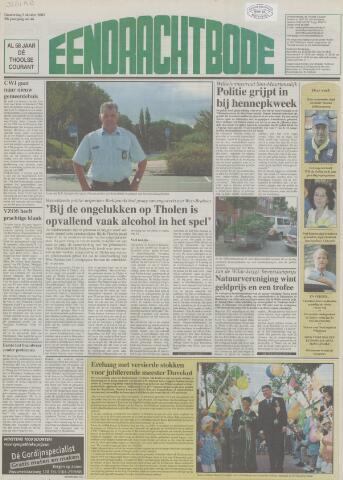 Eendrachtbode (1945-heden)/Mededeelingenblad voor het eiland Tholen (1944/45) 2003-10-02