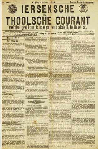 Ierseksche en Thoolsche Courant 1915