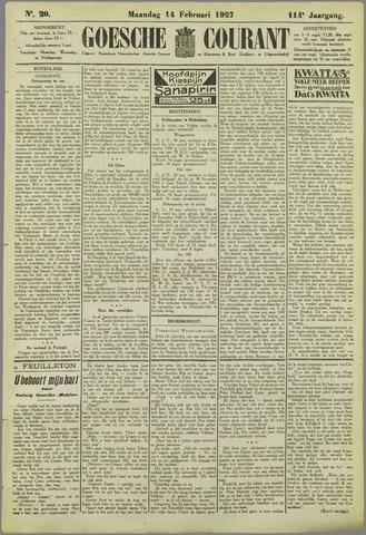 Goessche Courant 1927-02-14