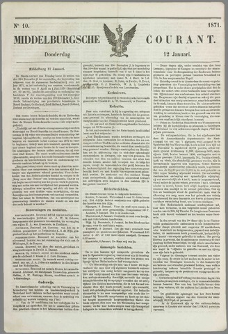 Middelburgsche Courant 1871-01-12