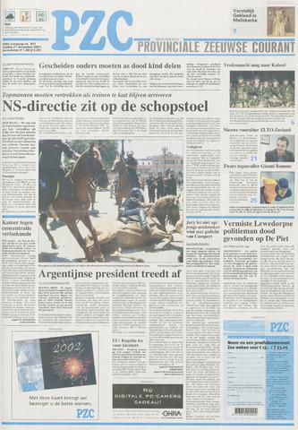 Provinciale Zeeuwse Courant 2001-12-21