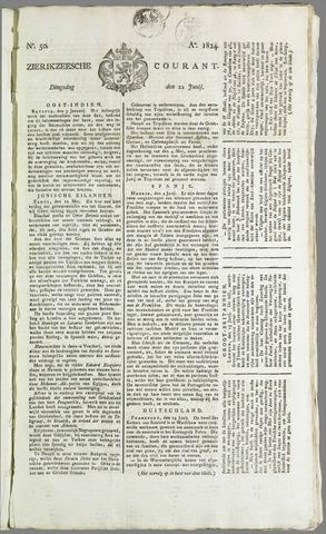 Zierikzeesche Courant 1824-06-22